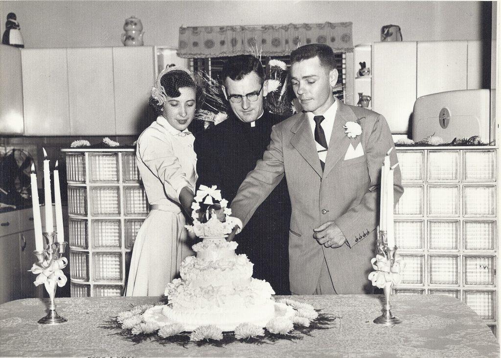 Fr. Murphy 1953 Wedding